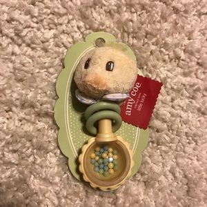 NWT Amy coe limited edition duck rattle